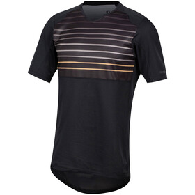 PEARL iZUMi Launch Jersey Heren, black/berm brown slope